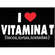 """I Love Vitamina T"" T-Shirt"