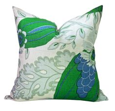 Christopher Farr Cloth Carnival pillow cover in Green by sparkmodern on Etsy https://www.etsy.com/listing/253048962/christopher-farr-cloth-carnival-pillow