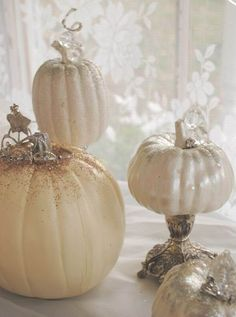 decorating with white pumpkins - Yahoo! Search Results