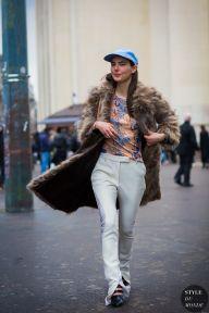STYLE DU MONDE / Paris Fashion Week FW 2016 Street Style: Ursina Gysi  // #Fashion, #FashionBlog, #FashionBlogger, #Ootd, #OutfitOfTheDay, #StreetStyle, #Style