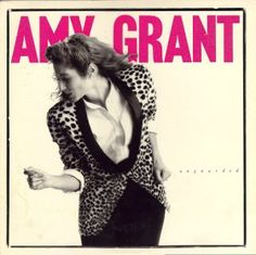 Amy Grant was one of the first female Christian artists on the radio...and she was just a few years older!