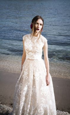 The Coordinated Bride and Christos Costerellos BR17 17 TOP & SKIRT (2)