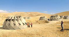 Lindas Woven Refugiados Tendas obtêm energia a partir do Sol   Inhabitat - Sustainable Design Innovation, Eco Arquitetura, Construção Verde
