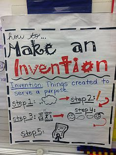 Make an invention---this blogger was celebrating African American inventors as part of Black History Month