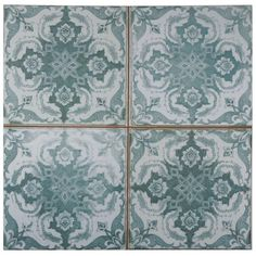 Merola Tile Kings Seagate 17-3/4 in. x 17-3/4 in. Ceramic Floor and Wall Tile (11.3 sq. ft. / case)