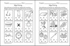Preschool Filipino Worksheets Bundle Vol. Money Worksheets, Kindergarten Worksheets, Printable Worksheets, Free Worksheets, Printables, Grade 1 Reading, 1st Grade Math, Kindergarten Reading, Reading Passages