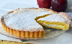 Crostata morbida con mele e ricotta