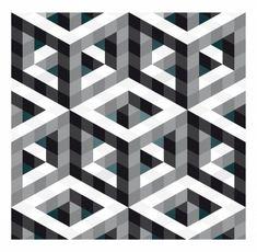 Hollow Necker Cube by Robin Hunnam                                                                                                                                                     Más