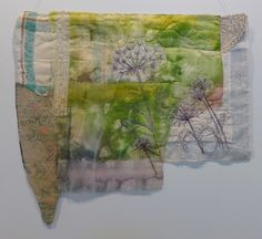 Cas Holmes: Green, Green Gras 7. Quiltfestival Luxembourg