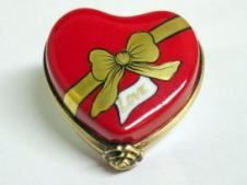 Limoges Boxes collectors website - Red Love Heart