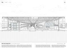 """Studying the """"Manual of Section"""": Architecture's Most Intriguing Drawing,Mont-Cenis Training Center by Jourda Architectes (1998). Published in Manual of Section by Paul Lewis, Marc Tsurumaki, and David J. Lewis published by Princeton Architectural Press (2016). Image © LTL Architects"""