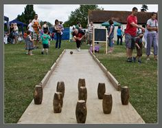 Skittles at the Village Fete - Stroud, Gloucestershire