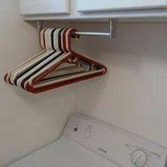 Laundry Room Towel Rack