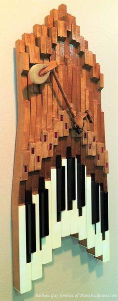 Barbara Gay Jimenez Piano Sculptures