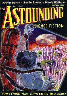 Astounding Science Fiction: 'Something from Jupiter'.