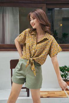 Tied Shirt, Shirt Blouses, Shirts, Shirt Dress, Vintage, Dresses, Style, Fashion, Shopping