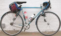 Emily O'Brien's Raleigh Professional Fixed Gear Bicycle