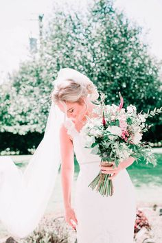 When Con invited Danielle to his debs 12 years ago, it marked the start of a great romance. Wedding Bouquets, Wedding Dresses, Wedding Inspiration, Wedding Ideas, Tie The Knots, Big Day, Summer Wedding, Real Weddings, Castle