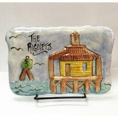 #Louisiana #neworleans #plaque The Rigolets Fine Clay Plaque