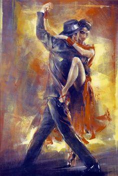 Tango Argentina I by Pedro Alvarez