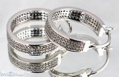 1.00 Ct. Diamond Hoops