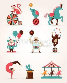 circo roda gigante ilustração - Pesquisa Google