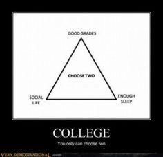 Definitely defines grad school