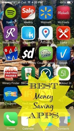 Here are a list of the Top Money Saving APPs around. All of them are FREE to use and you can even earn FREE gift cards on some of them. Great coupon apps. #GreatBusinessCardMakers