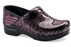 I just bought these beauties for work. My local The Walking Company store offers a great discount when you present your hospital ID.  Professional Pink Scribble Patent  Dansko Shoes & Footwear TheWalkingCompany.com