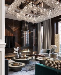 Luxury Living Room Designs - Aren Home Decor Luxury Homes Interior, Luxury Home Decor, Modern Interior Design, Lobby Design, Luxury Furniture, Rustic Furniture, Modern Furniture, Antique Furniture, Furniture Layout
