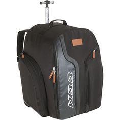 CCM 290 Player Wheeled Hockey Backpack, Black