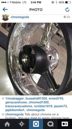 This is not how you chrome something. Chrome Plating, How To Apply