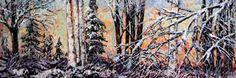 """First Snowfall"" Create Words, Maya, North America, Scene, Landscape, Artwork, Scenery, Work Of Art, Landscape Paintings"