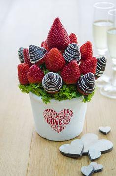 Erdbeertraum – Fruity Flowers