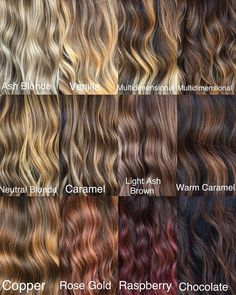 These 17 Caramel Hair Colors Are Trending for 2019 - Style My Hairs Hair Color Balayage, Hair Highlights, Ombre Hair, Sombre Vs Ombre, Brown Hair With Highlights And Lowlights, Chunky Highlights, Caramel Highlights, Blonde Balayage, Hair Color 2018