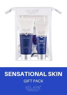 What's Included: Kelapa Organics Cream Cleanser Kelapa Organics Face Moisturiser Organic Face Products, Organic Skin Care, Moisturiser, Cleanser, Organic Face Moisturizer, Organic Coconut Oil, Body Scrub, Skincare, Australia