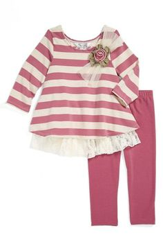 Pippa & Julie Tunic & Leggings (Toddler Girls) available at #Nordstrom
