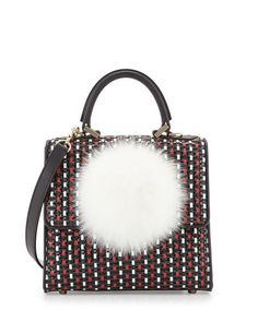 LES PETITS JOUEURS Les Petits Joueurs. #lespetitsjoueurs #bags #hand bags #fur #lining #