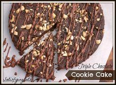 Satisfying Eats - Page 5 of 13 - Grain-Free, Sugar-Free & Hunger-Free Dark Chocolate Recipes, Triple Chocolate Cookies, Allergy Free Recipes, Snack Recipes, Dessert Recipes, Thm Recipes, Primal Recipes, Baking Recipes, Paleo Cookies