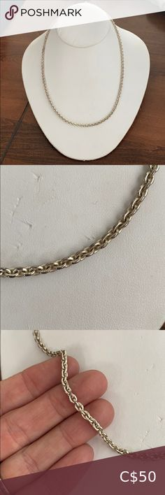 Shop Women's Silver size OS Necklaces at a discounted price at Poshmark.