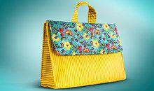 Bolsas e acessórios femininos em tecido com Luciana Jaber