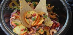 Ceviche de Caju com Frutos do Mar