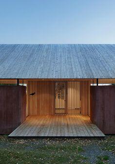 Roof Wood summerhouse svartnö ~ wrb architects | lindman: photography Source: lindmanphotography.com