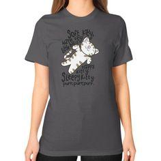Kitty kitty Unisex T-Shirt (on woman)