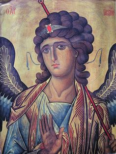 St. Gabriel the Archangel Whispers of an Immortalist: Icons of the Holy Angels 1