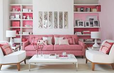 Spring is in the Air: Decorating with Pale Pink