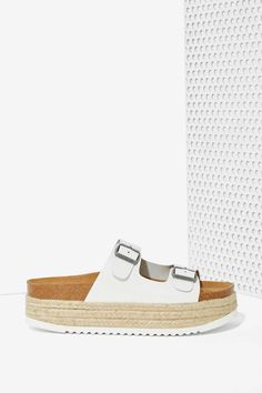 Jeffrey Campbell Aurelia Leather Espadrille Sandals | Shop Shoes at Nasty  Gal!