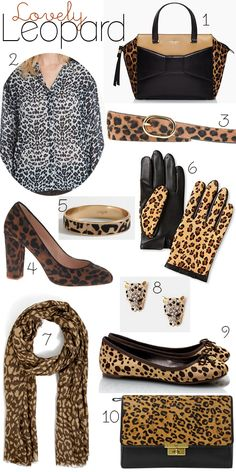 dde37898bb Lovely Leopard Animal Print Fashion