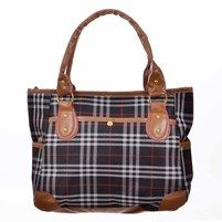 Plaid Hand Bag