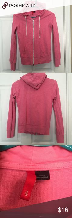 H&M hoodie Only worn two or three times. Excellent condition. H&M size 4, fits like a small. H&M Tops Sweatshirts & Hoodies